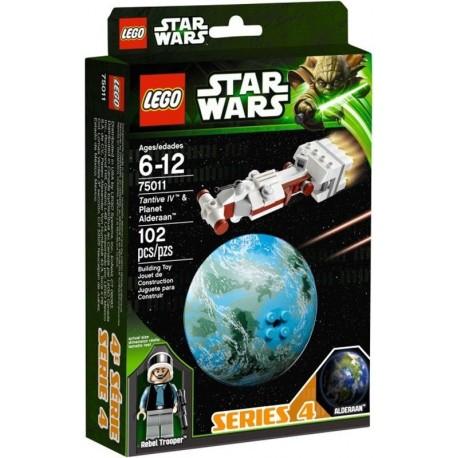 lego star wars 75011 tantive IV & alderaan planet