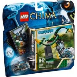 Lego Legends of Chima 70109 virvlande vinstockar sätta nya i box