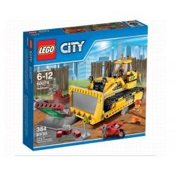LEGO kaupunki 60074 Kaupunki purku LEGO Bulldozer Set kehikossa Sealed
