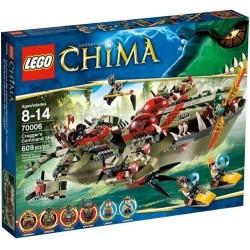lego legendák Chima 70006 craggers vezérhajóként meghatározott új rovatban