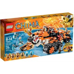 lego legends of chima 70224 tigers mobile command new in box 70224