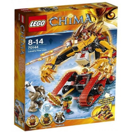lego legends of chima 70144 lavals fire lion in box 70144