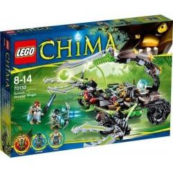 lego legendat chima 70132 scorms skorpioni Stinger asettaa uusia kohtaan