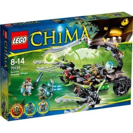 lego legends of chima 70132 scorms scorpion stinger set new in box