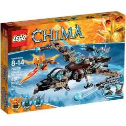 lego legendák Chima 70228 vultrixas ég utcaseprő új rovatban 70228