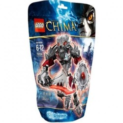 lego legends of chima 70204 chi worriz new in box