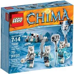 Лего легенди на Chima 70230 лед мечка племе пакет нови в кутия 70230