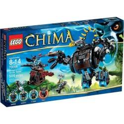 LEGO CHIMA 70008 Chima gorzans gorila napadač postaviti novo u kutiji