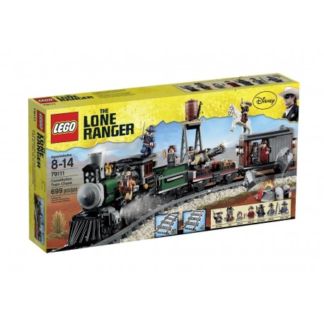 lego lone ranger disney 79111 constitution train chaser