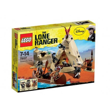 lego lone ranger disney 79107 commanche camp