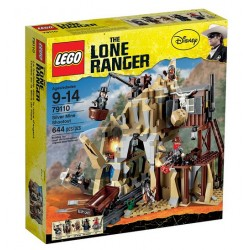 lego lone ranger disney 79110 sølvgruve shootout