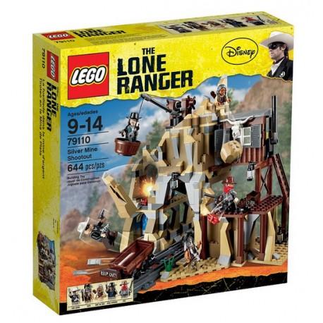 lego lone ranger disney 79110 silver mine shootout