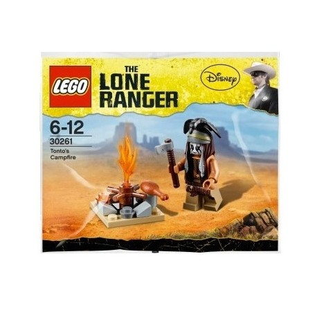 lego lone ranger disney 30261 tonto's campfire