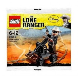 lego lone ranger disney 30260 pump car