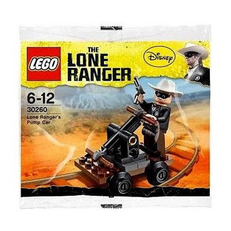 lego lone ranger disney 30260 pump car