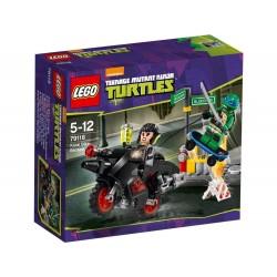 lego ninja turtles karai bike escape 79118