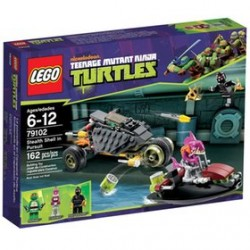 Ninja lego tortues 79102 furtif coquille poursuite