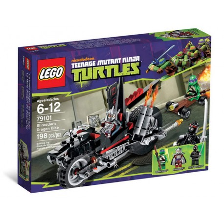 lego ninja turtles karai bike escape 79118