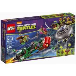 lego Ninja Turtles 79120 t-rawket taivas strike