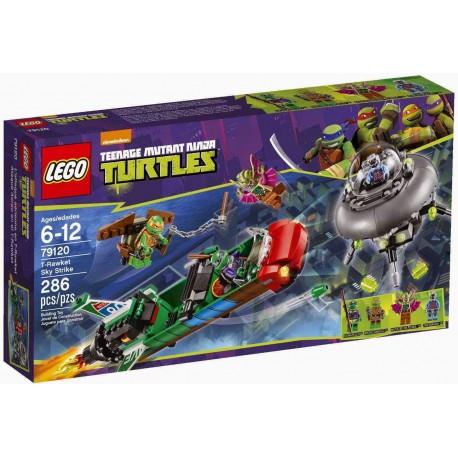 lego ninja turtles 79120 t-rawket sky strike