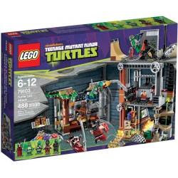 lego Ninja Turtles 79103 żółwia atak Lair