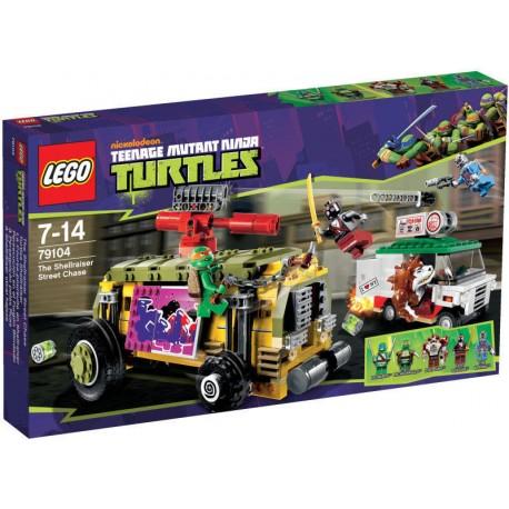 lego ninja turtles 79104 the shell raiser street chase