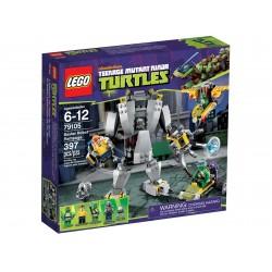 レゴ忍者は79105バクスターロボット大暴れをカメ