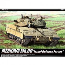 academy 1/35 merkava mkiid israel defense forces plastic model kit 13286