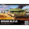 academy 1/35 merkava mk iv lic tank plastic model kit 13227