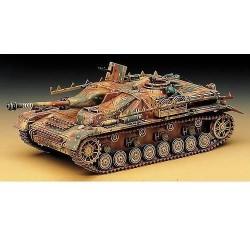 akademi 135 tyska misshandel pistol tank 75mm stuk plastmodell kit 13235