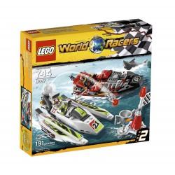 Lego World Racers 8897 rosoinen leuat riutta