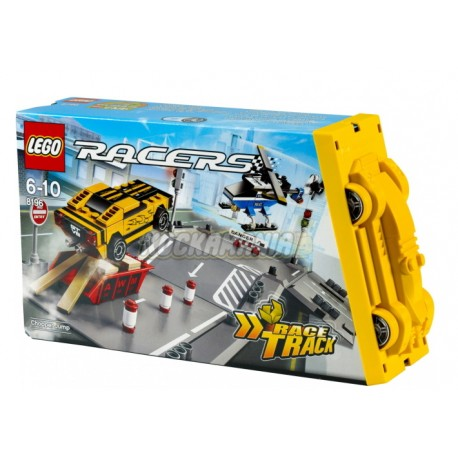 lego world racers chopper jump 8196