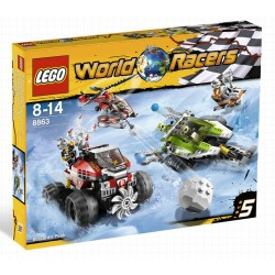 lego 8863 world racers agents blizzard peak