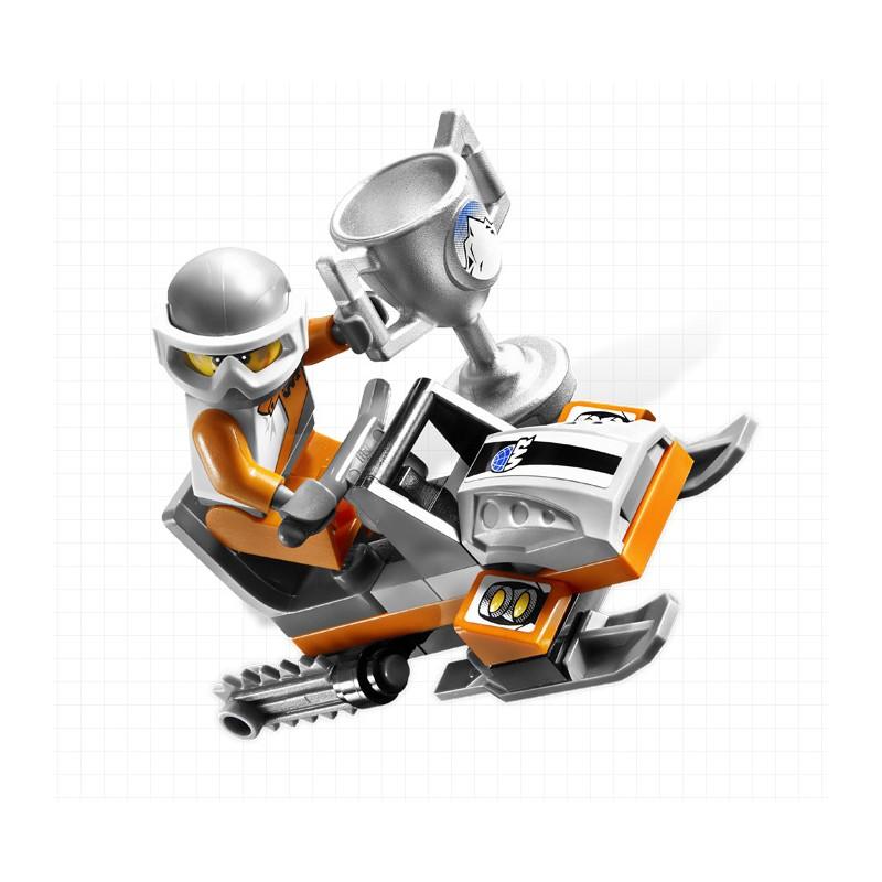 LEGO 8863 World Racers Mittel blizzard Spitzen | hellotoys.net