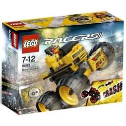 LEGO skijaša 9093 kost drobilica kamiona