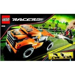 Lego Racers 8162 moottori toiminta