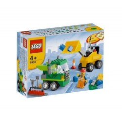 lego road construction building 5930