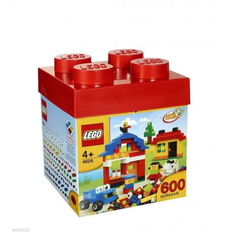 lego bricks 600 piece building brick 4628