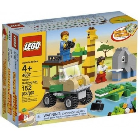 lego bricks & more safari building 4637