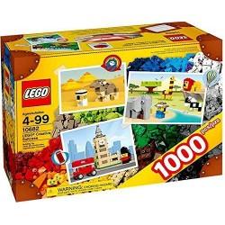 lego rakentajat tiilet ja enemmän 10682 luova matkalaukku