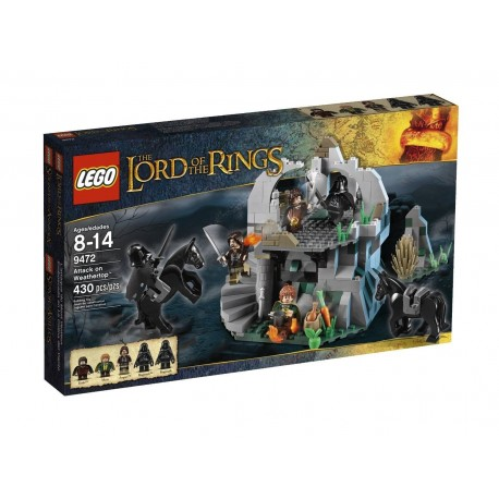 lego 9472 lord of the rings attack on weathertop