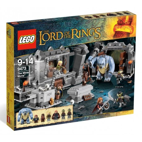lego 9473 lord of the rings the mines of moria