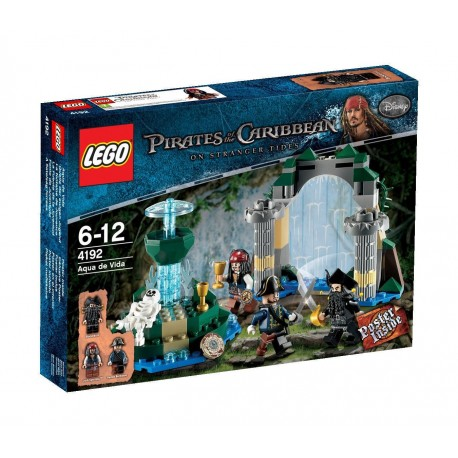 lego pirates of the caribbean 4192 fountain of youth