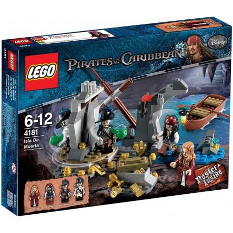lego pirates of the caribbean 4181 isla de la muerta