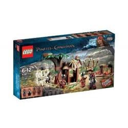 LEGO Карибски пирати 4182 на канибал бягството