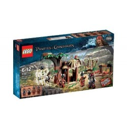 LEGO Pirates of the Caribbean 4182 de kannibaal ontsnapping