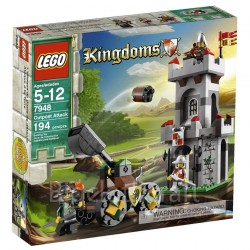 LEGO karaļvalstij 7948 priekšpostenis uzbrukums