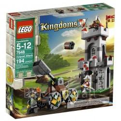 lego koninkrijken 7948 buitenpost aanval