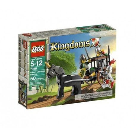 lego kingdoms prison carriage rescue 7949