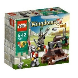 lego kingdoms 7950 knight's showdown